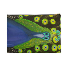 Load image into Gallery viewer, Accessory Pouch – Peacock Design