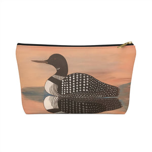 Accessory Pouch w T-bottom – Sunset Loon