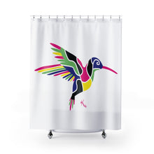 Load image into Gallery viewer, Shower Curtain – Humming Bird