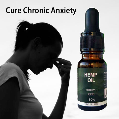 Hemp CBD  Oil Anti-anxiety & Insomnia