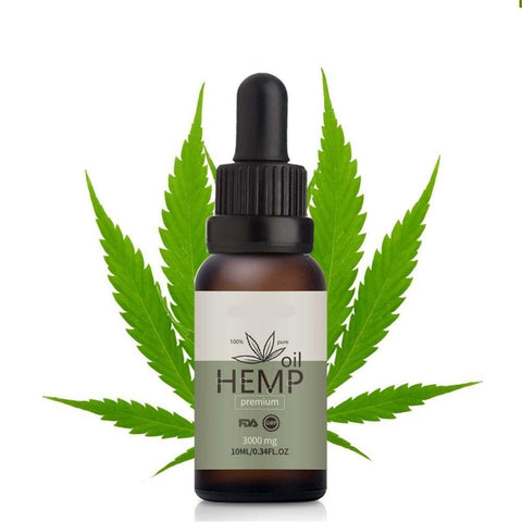 Hemp Seed Oil Herbal Drops Relief Anxiety