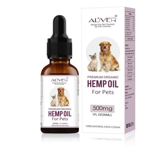 Hemp Essential Oil for dogs immunity Pet