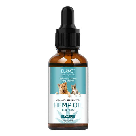Hemp Oil Stress Relief Massage  for Pet  Reduce Anxiety