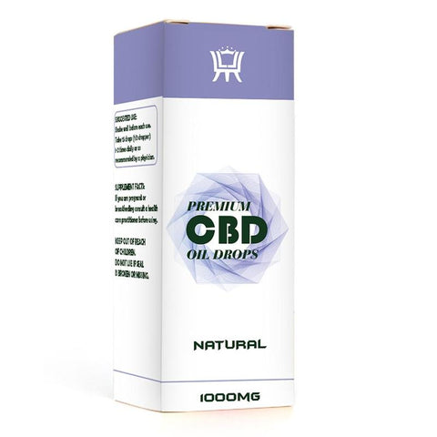 CBD hemp Essential Oil Herbal Drops