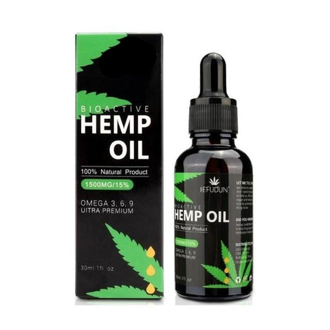 Bio-active Hemp Seed Drops Body Relieve