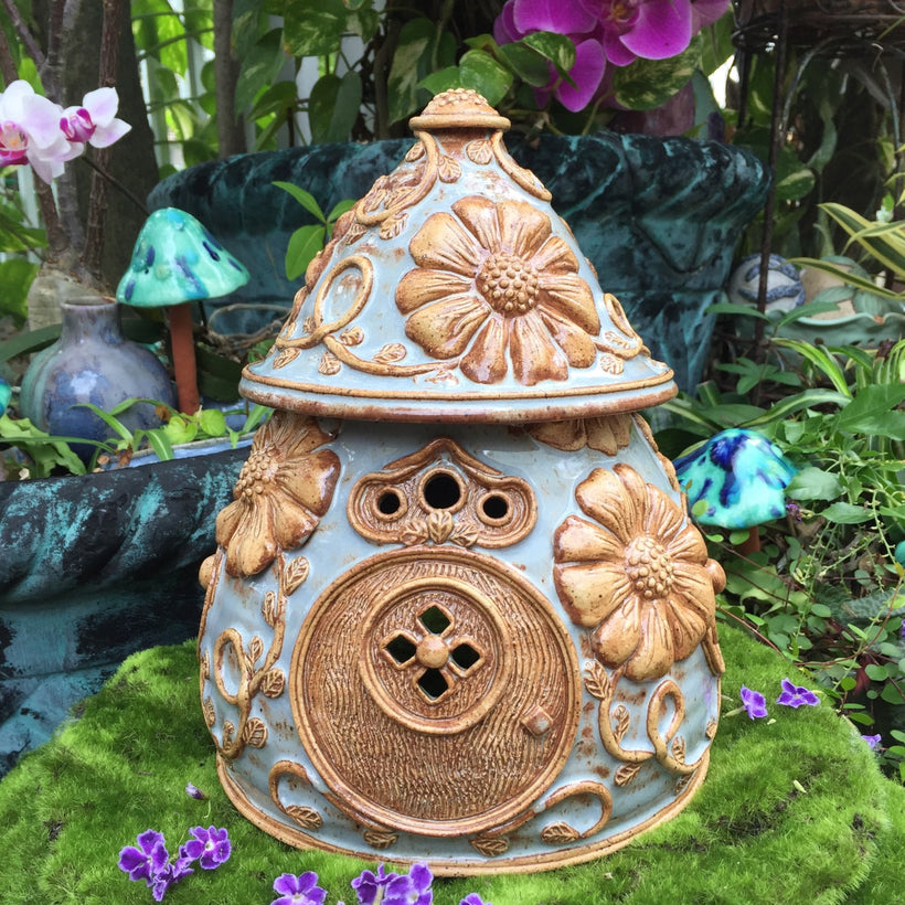 Coming Soon! Ceramic Fairy Houses