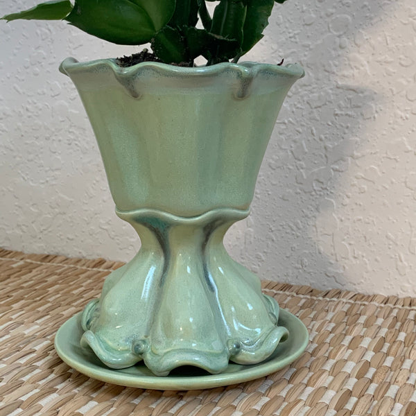 Ceramic Planter Pot - Free U.S. Shipping included in Price