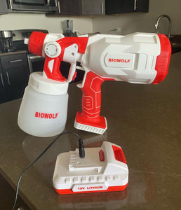BIOWOLF Disinfectant Sprayer - BIOWOLF Solutions
