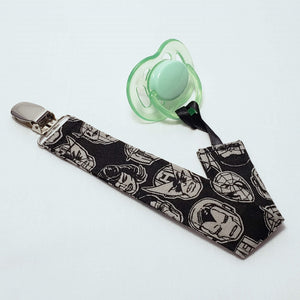 Avengers Faces Pacifier Clip with Pacifier