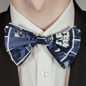 Blue Star Wars Bowtie on Collar