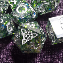 Load image into Gallery viewer, Buckland's Treaty - 7 Piece Polyhedral Dice Set