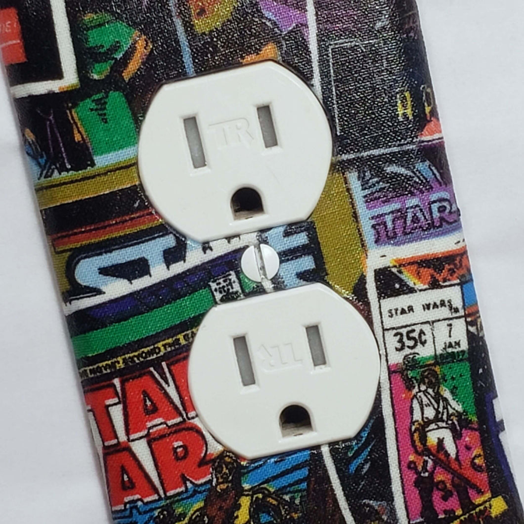 Star Wars Comic Outlet Cover Close Up