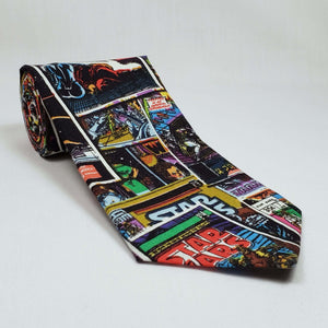 Star Wars Comic Necktie Rolled