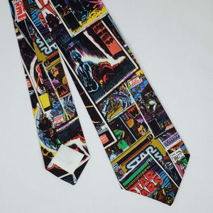 Star Wars Comic Necktie Front and Back