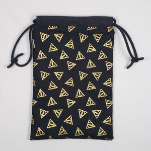 Deathly Hallows Harry Potter Dicebag Open