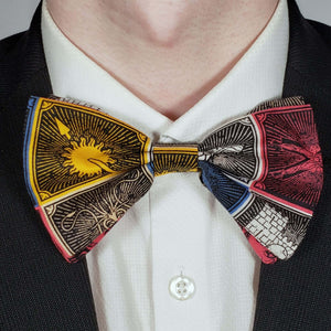 Game of Thrones Crests Bowtie on Collar