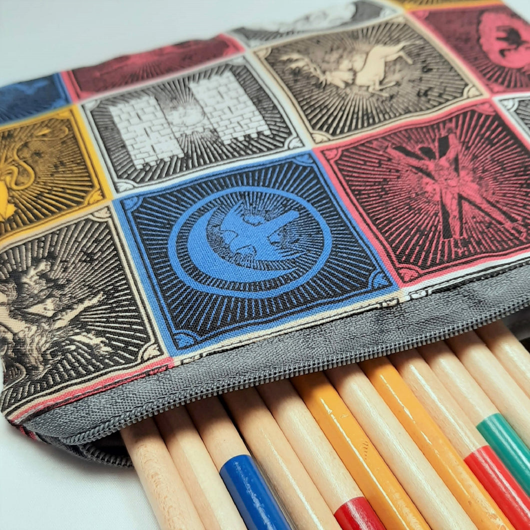 Game of Thrones House Zipper Pouch Close Up