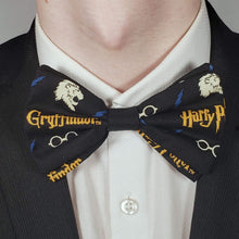 Load image into Gallery viewer, Gryffindor Harry Potter Bowtie on Collar