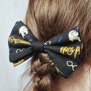 Gryffindor Harry Potter Hairclip in Hair