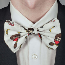 Load image into Gallery viewer, Chibi Harry Potter Quidditch Bowtie on Collar
