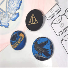 Load image into Gallery viewer, Ravenclaw Harry Potter Magnets Right Angle View