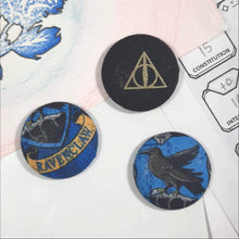 Load image into Gallery viewer, Ravenclaw Harry Potter Magnets Front View