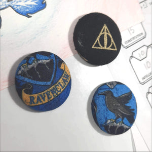 Ravenclaw Harry Potter Magnets Left Angle View