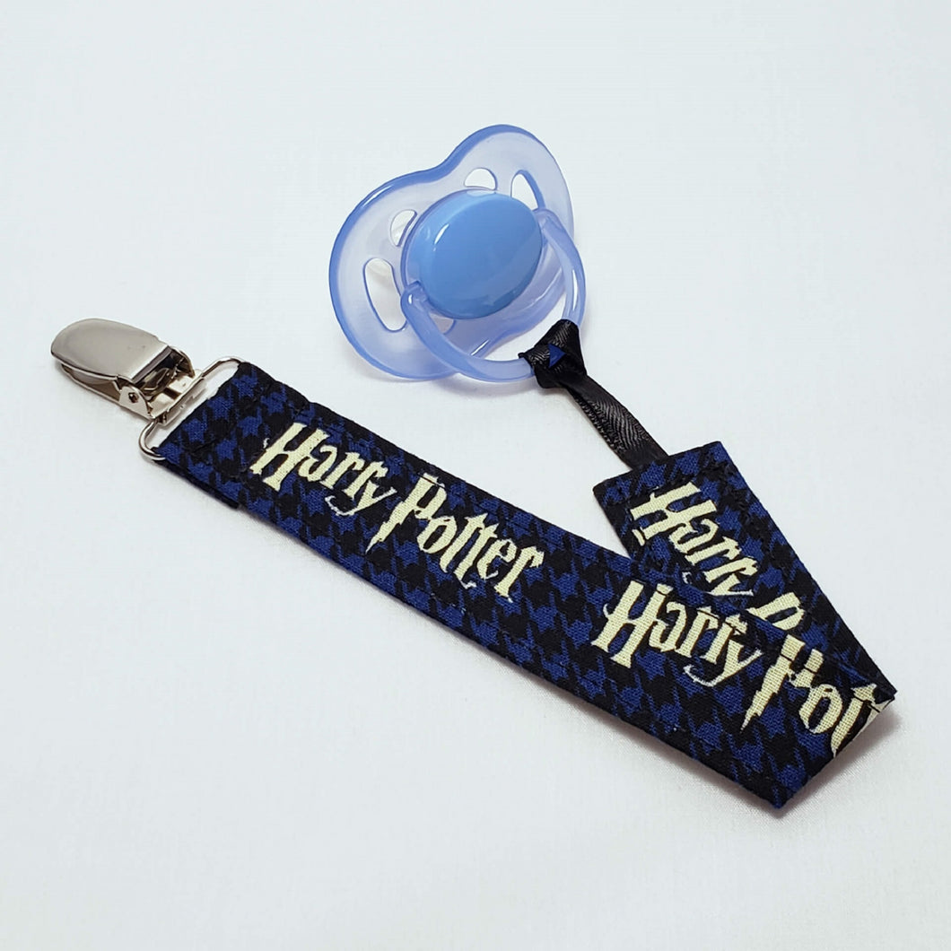 Harry Potter Pacifier Clip with Pacifier