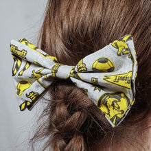 Load image into Gallery viewer, Hufflepuff Emblems Hair Clip in Hair