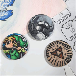 Link & Triforce Magnets Front View
