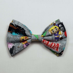 Legend of Zelda Cartoon Bowtie