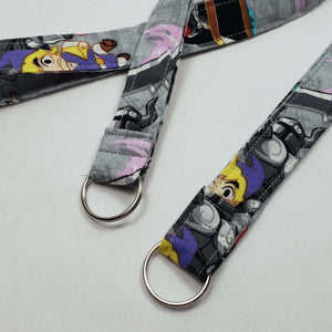 Legend of Zelda Cartoon Lanyard and Key Fob with Split Ring