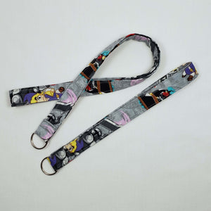 Legend of Zelda Cartoon Lanyard and Key Fob Full View