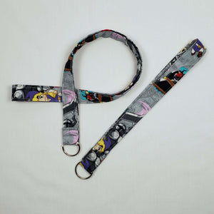 Legend of Zelda Cartoon Lanyard and Key Fob Looped