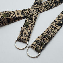 Load image into Gallery viewer, Legend of Zelda Tribal Style Lanyard and Key Fob with Split Ring
