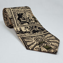 Load image into Gallery viewer, Legend of Zelda Tribal Style Necktie Rolled