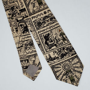Legend of Zelda Tribal Style Necktie Front and Back