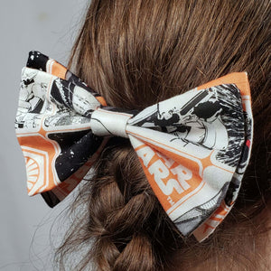 Star Wars First Order Hair Clip in Hair