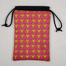 Load image into Gallery viewer, Pink Pikachu Pokemon Dicebag Open