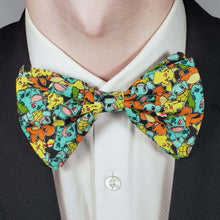 Load image into Gallery viewer, Pokemon Characters Bowtie on Collar