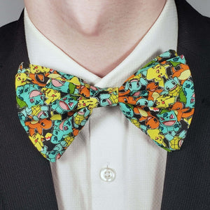 Pokemon Characters Bowtie on Collar