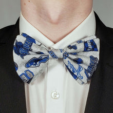 Load image into Gallery viewer, Ravenclaw Emblems Bowtie on Collar