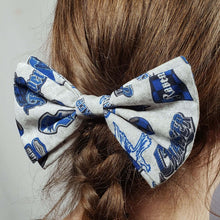 Load image into Gallery viewer, Ravenclaw Emblems Hair Clip in Hair