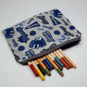 Ravenclaw Emblems Zipper Pouch with Pencils