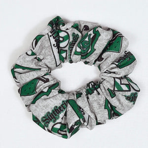 Slytherin Emblem Scrunchie Top View