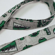 Load image into Gallery viewer, Slytherin Emblems Lanyard and Key Fob Close Up