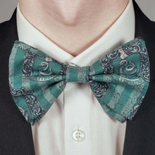 Load image into Gallery viewer, Slytherin Crest Bowtie on Collar