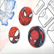 Load image into Gallery viewer, Spiderman Magnets Right Angle View