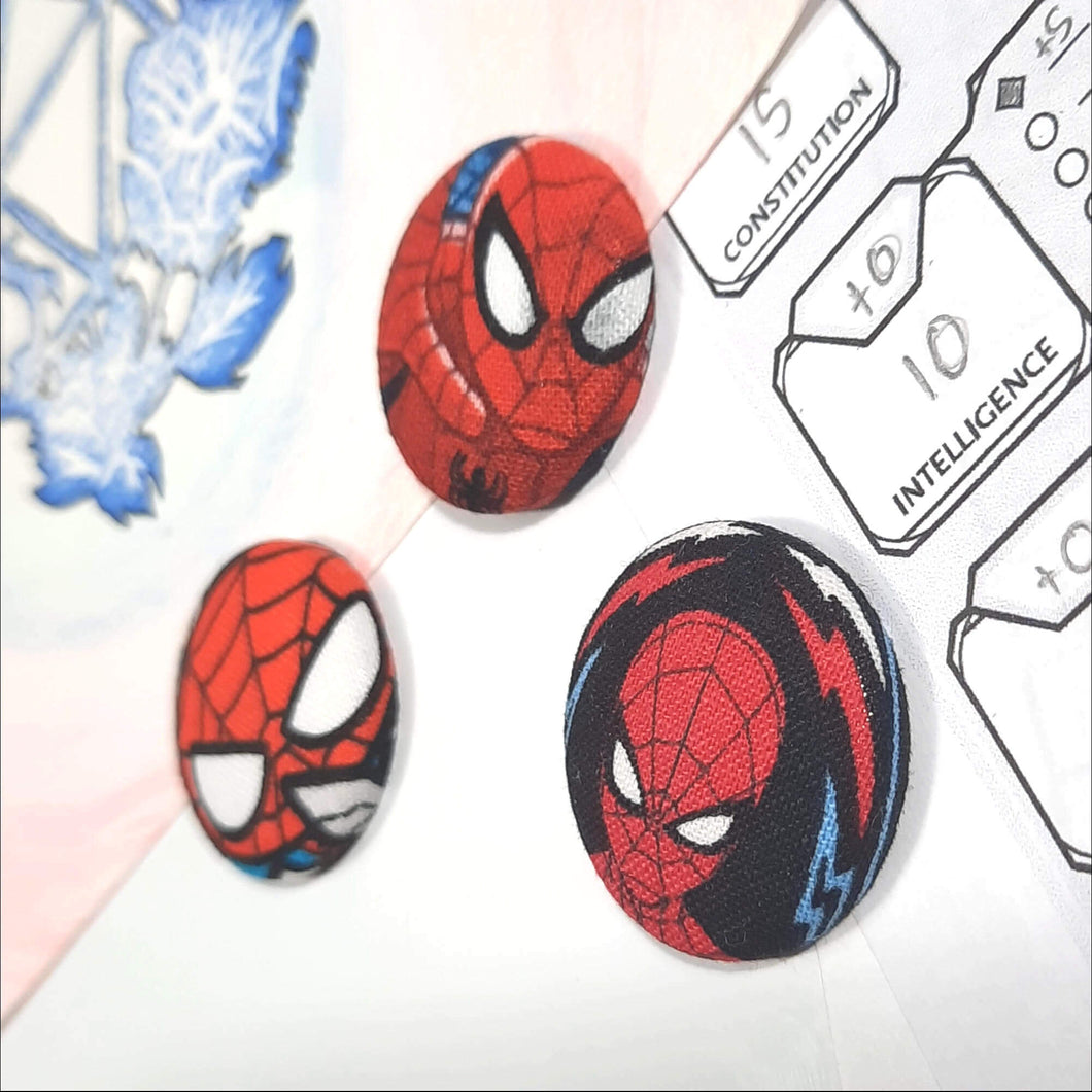 Spiderman Magnets Right Angle View