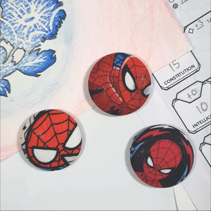Spiderman Magnets Front View